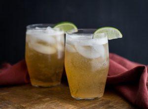 Ingefära- och citronläsk