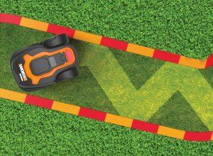 Størrelse på græsplænen