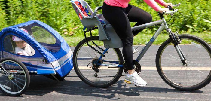 Cykelanhænger test