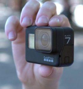 GoPro 7 størrelse