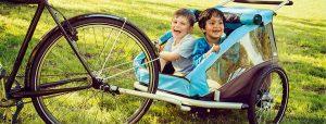 sikker brug af cykelanhænger
