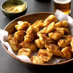 Kycklingnuggets med sötpotatispanering