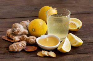 Citrondrik med ingefaer