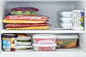 Så lenge kan matvarene dine holde i fryseren
