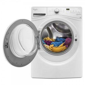 Sentrifuger tøyet i vaskemaskinen