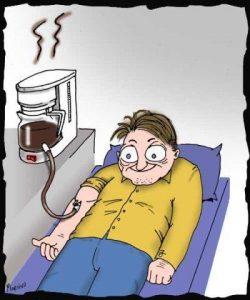 Du kan få en överdos av kaffe
