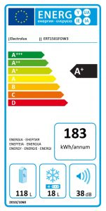 Energimærkning køleskab