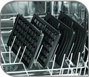 Tefal Snack Collection i opvaskemaskinen