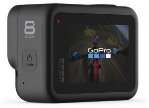 GoPro Hero 8 skærm