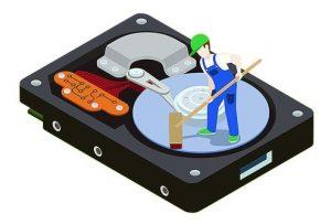 slet din harddisk
