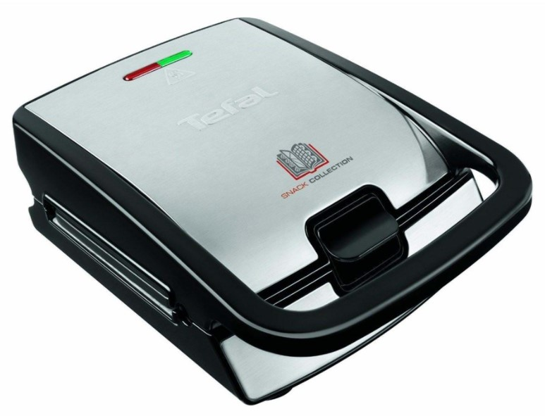 Tefal Snack Collection SW852D - Vaffeljern og toaster i én