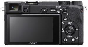 Sony A6400 bag fra