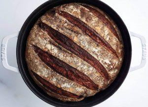 Brød med nøddeagtig aroma