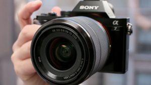 Sony A7 opsamling