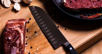 Santoku kniv test