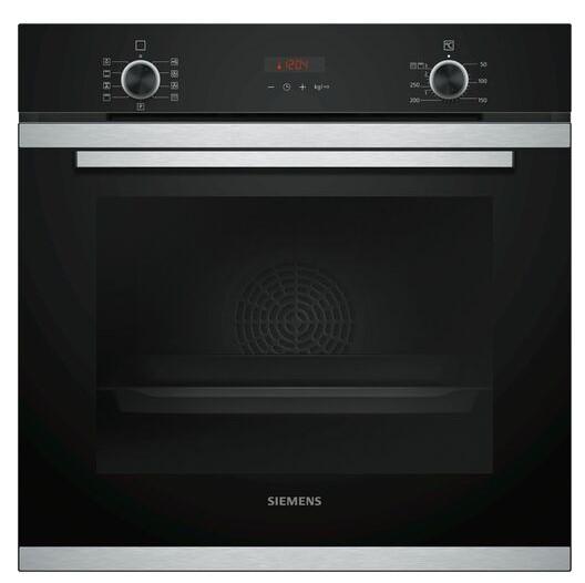 Siemens HB273ABS0S iQ300 – Brugervenlig ovn med pyrolyse og stort ovnrum