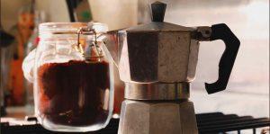 espressokande i brug