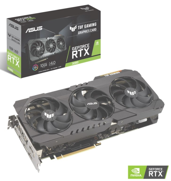 ASUS GeForce RTX 3080 TUF OC