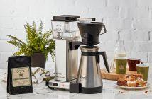 Kaffemaskine med termokande test
