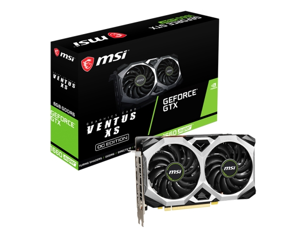 MSI GeForce GTX 1660 Super Ventus