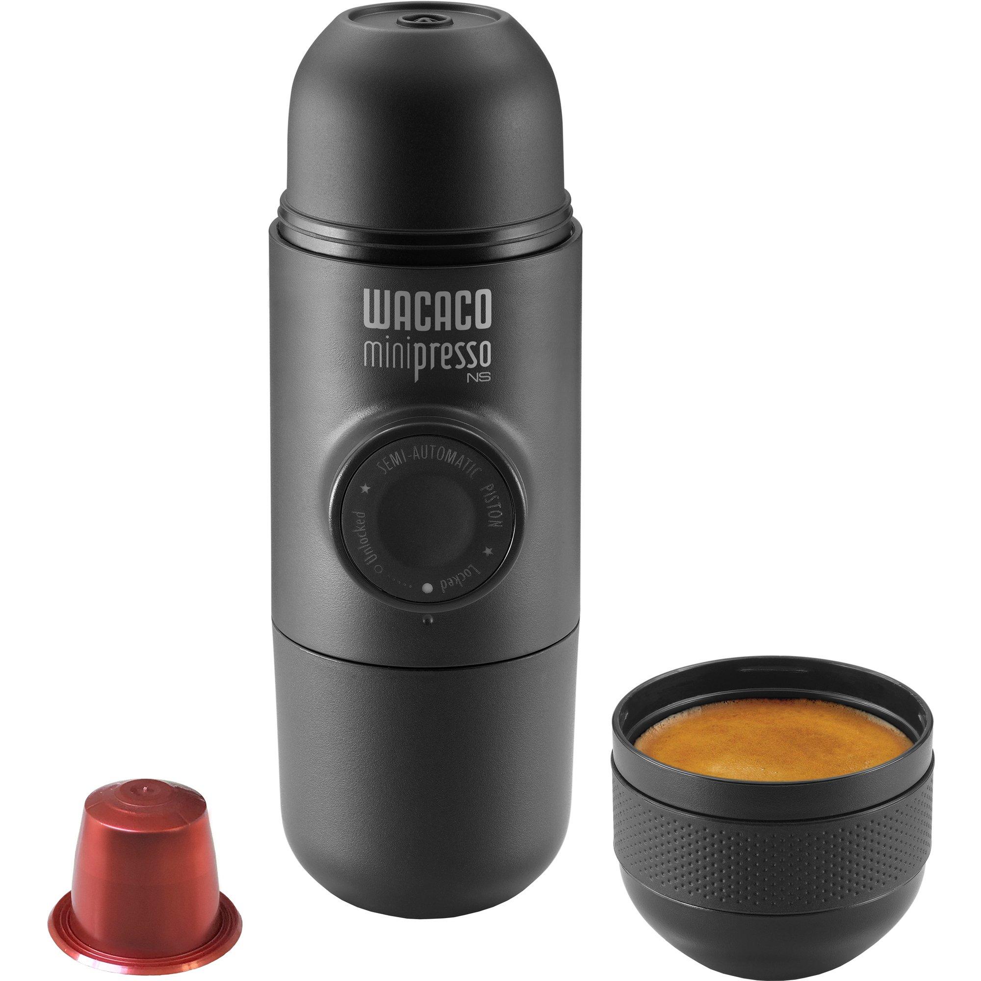 Wacaco Minipresso NS espressobrygger – Smart og innovativ mini-espressobrygger til vandreturen