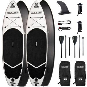 Subzero Pakketilbud 2 x Glacier SUP PaddleBoards