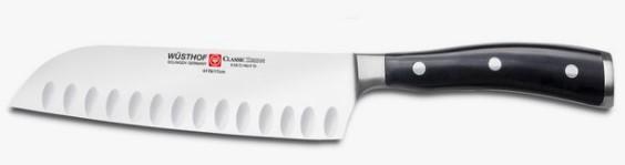 Wüsthof Classic Ikon santoku-kniv – stor præcision